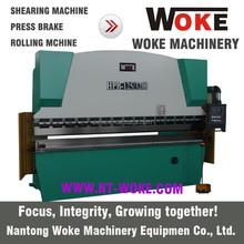 Presse hydraulique de frein 6000 mm WC67K tôle machine de pliage