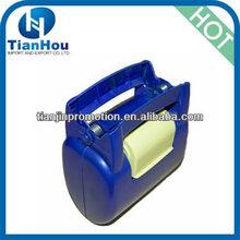2013 new plastic pet poop scoop with disposable bag