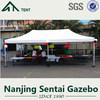3x3m 10x10' chinese supplier higher quality alum hex folding sunshades gazebo tent