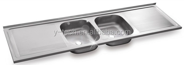 Double Drainer Double Bowl Kitchen Sink Big Kitchen Sink 2 Bowl ...