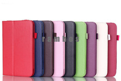 New Book Leather Case Tablet Accessories Smart Stand Holder Folio Cover for Lenovo A3000 A3300 A3500 A5500 S6000