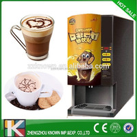3 hot drinks selections korean coffee vending machine