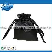 Designer new arrival hot sale polyester satin pouch