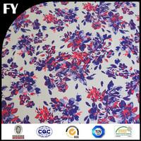 Factory digital custom printed mikado fabric wedding dress