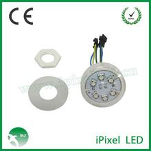 6 smd 5050 led rgb ic pixel module with 45mm ucs2903 for ferris wheel