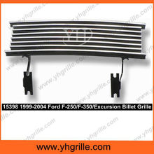 Short Style Fits 1999-2004 F-O-R-D F-250/F-350/Excursion SD Bumper Billet Grille