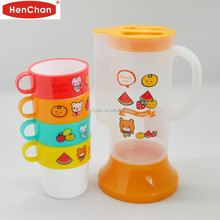 best selling children pitcher with 4 cups