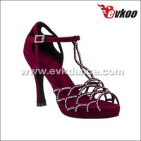 2015 new styles EVKcharacter dance shoes zapatos de baile latino china