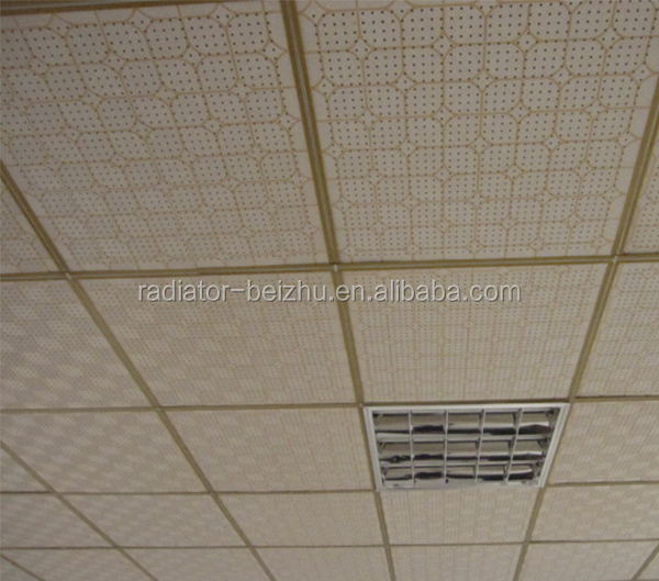 Sound Absorbing Gypsum Board : Perforated sound absorbing ceiling gypsum