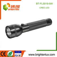 Wholesale Cheap Emergency Police Super Bright Handheld Aluminum Alloy 5W OEM Cree XPE Camping high power led torch light