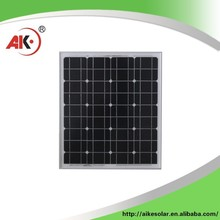 Alibaba china supplier 50w solar panel