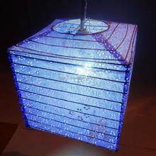 New design fashional square paper promotion lantern