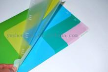 pp manila clear file folder/carrier sheet/file nesting store