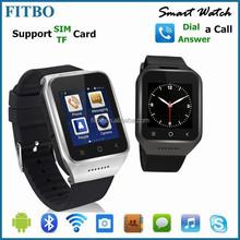 Ultra Thin 5.0M Camera GPS Wifi 3G OEM Factory FTB21smart phone watch