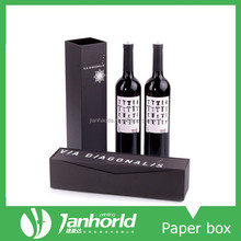 over 15 years professional factory OEM logo printing fashion design paper wine gift box