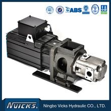Energy saving servo 12 volt hydraulic pump motor