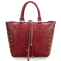 GL458 Autum new design luxury lady studded leather bling bag