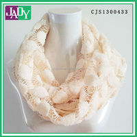 Hot Selling New Design Fashion Solid Color Wholesale Infinity Scarf
