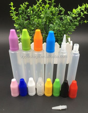15ml plastic unicorn dropper bottle with childproof cap for smoking oil,nicotine oil