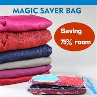 Housewife's helper storage vacuum packing bags for clothes