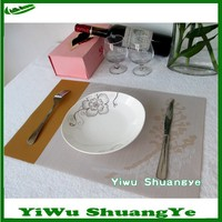 45x30cm plastic heat resistant table mats for dinning