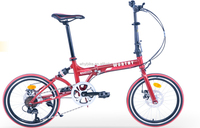 """20"""" inch 7 speed lowrider bicycle and steel foldingbike parts of china manufacturer to folding bike"""