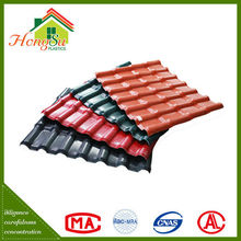 Chinese roof design synthetic resin 100% Waterproof color roof philippines