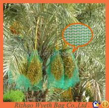 pe cheap date tube green net green bags