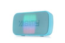 2015 Super Bass Stereo Mini Cheap led light Bluetooth Speaker with FM Radio