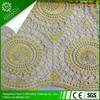 2015 nigeria fabric embroidery designs aqua and silver african guipure lace/ guipure lace/ embroidery lace for wedding dress