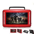 Nuevo ksd-900b 9 pulgadas de pantalla reproductor portátil de dvd con dvd, vcd, mp 3, mp 4, tv, de radio, usb, tf