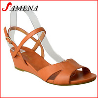 Popular footware 2015 woman shoes new design