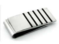 Custom enamel metal tie clips with logo