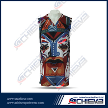 The custom of the United States team basketball jersey uniform shirt