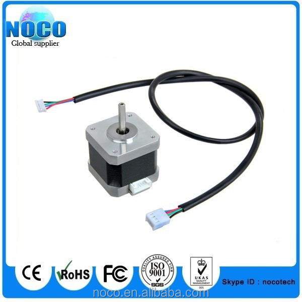 1 8 degree nema 17 stepper motor holding torque with 4 pin for Nema 17 stepper motor torque