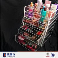 Customized professional design beautiful clear acrylic foundation makeup mac/mac makeup in china/mac makeup china wholesale