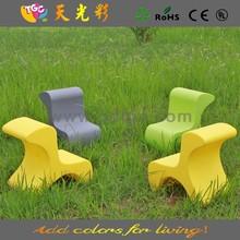 Material do PE mobília ao ar livre rotomoldagem estilo morden móveis de vime criança