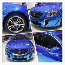 ZSMELL Car Sticker Wholesale Price 1.52*30m hot sale colored car wrap vinyl for auto color changing/ carbon fiber black