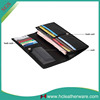 Korean New Style Business Ultra - thin Bifold Black Women Wallets with Card Slots