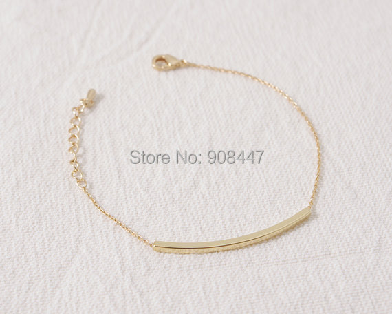 Gold Silver Curved Bar Bracelet.jpg