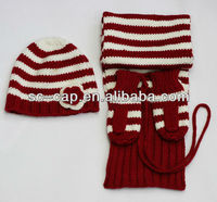 scarf, hat & glove sets