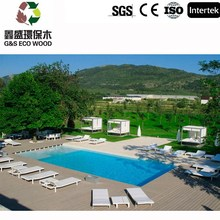 High quality and cheap price composite decking / for outdoor wpc board / wood plastic composite wpc decking !