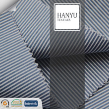 cotton stripe fabric blue and white