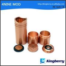High Quality Mechanical Mod 4Nine Mod Clone 1:1 4nine Mod with Magneto Mechanical Mods Clone fit Mephisto Omega Atty V3 Ato