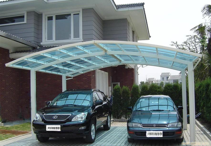 Acrylic Car Shelters : Car shelter buy two garage tent plastic shed roof