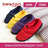 Super soft antislip elastic colorful slipper kids