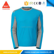 2015 new style long sleeve running dry fit t-shirt for sport wear---7 years alibaba experience