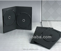 7mm Double Black Cd/dvd Carrying Case