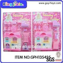 2015 plastic mini toy doll house furniture