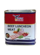 Beef Luncheon Meat 198g,340g tin packed fire sale